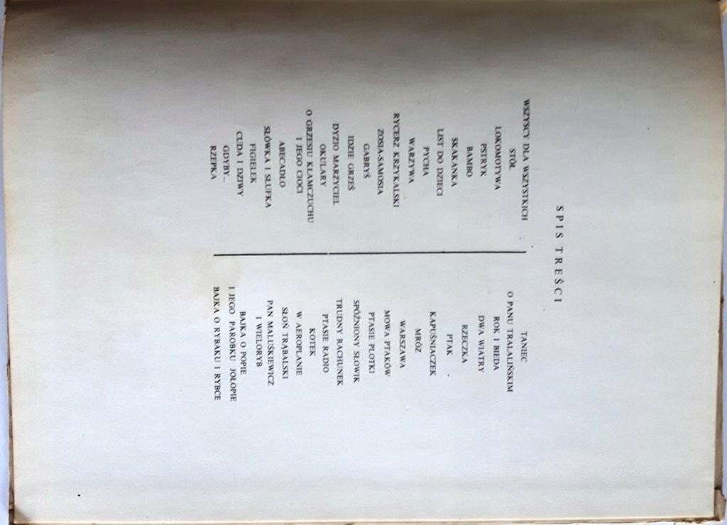 Wiersze Dla Dzieci Julian Tuwim 1973