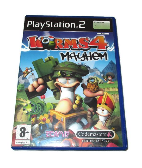 Gra Ps2 Worms 4 Mayhem Playstation 2 6839393329 Oficjalne Archiwum Allegro