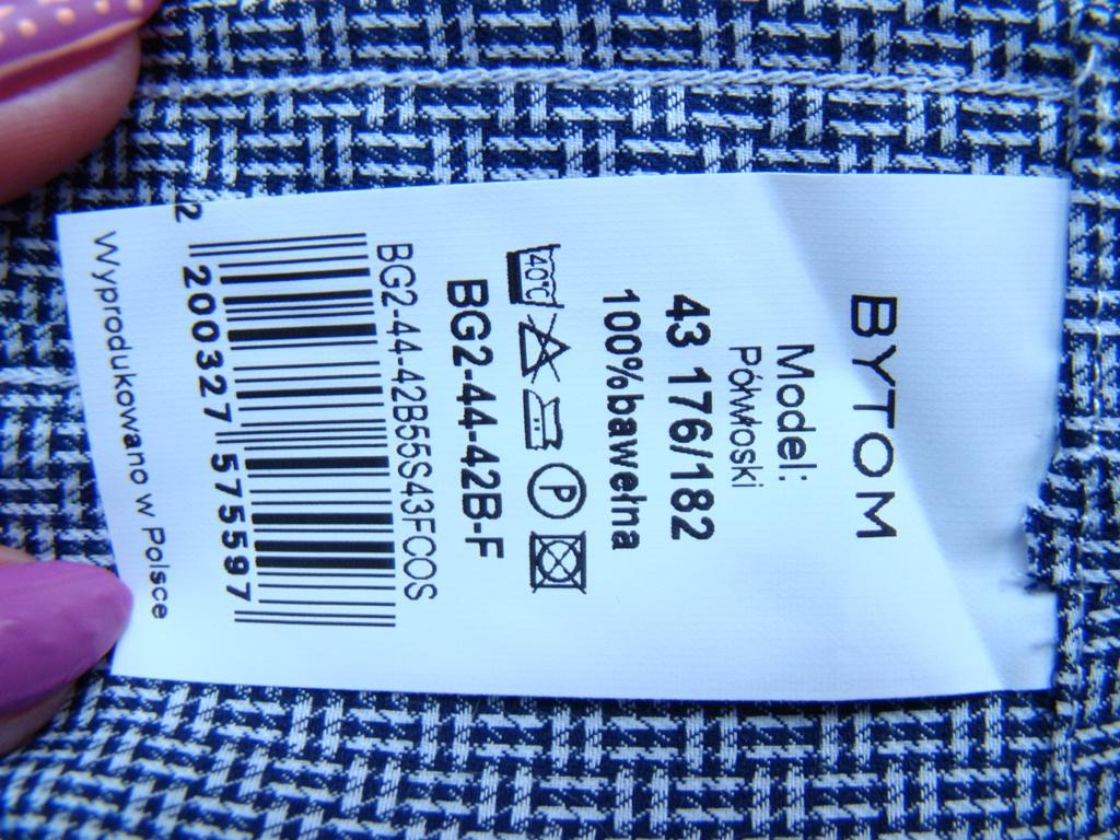 koszula męska BYTOM 43 176182 NOWA 7182203192 oficjalne  wePAK
