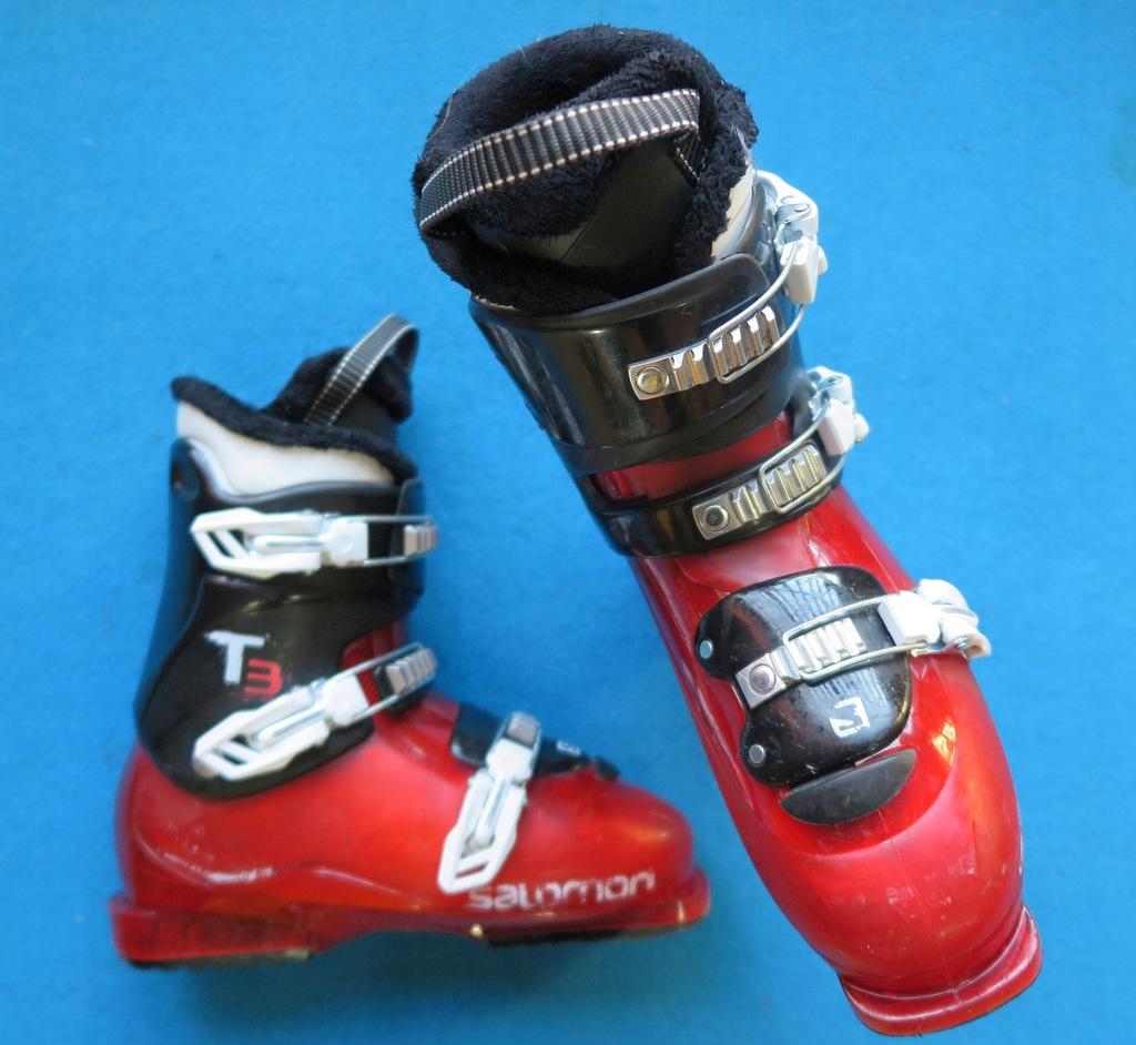 Buty narciarskie SALOMON T3 26,0 40,0 juniorskie