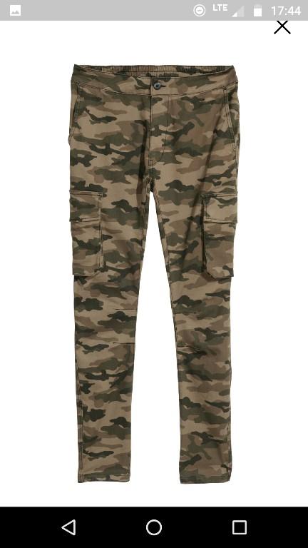 Nowe spodnie h&m r. 34