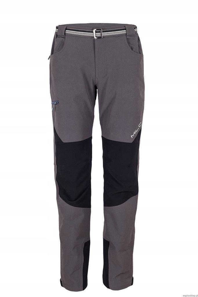 Milo Tacul spodnie trekking, góry szare L
