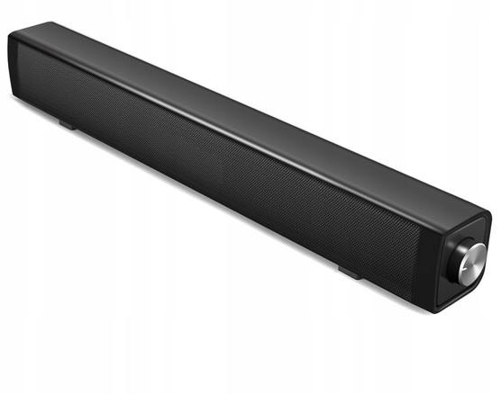 SOUNDBAR 10W USB WEJŚCIE SŁUCHAWKOWE I MIKROFONÓW - 7501196906 - oficjalne archiwum Allegro