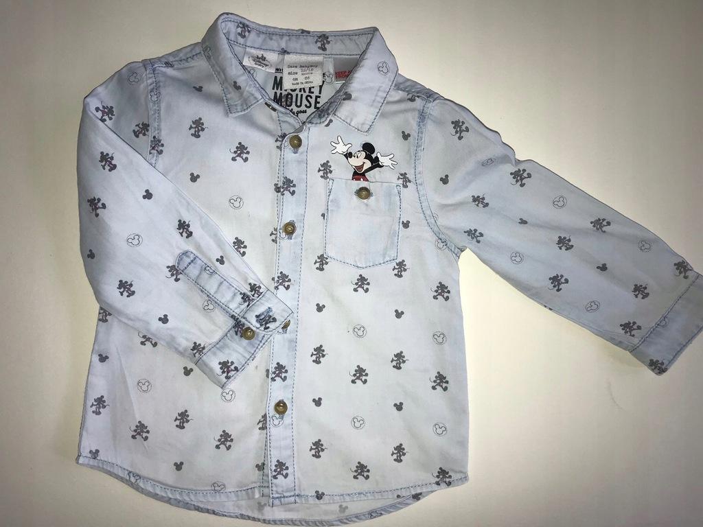 Koszula Zara Mickey Mouse rozm. 12 18 miesięcy 86