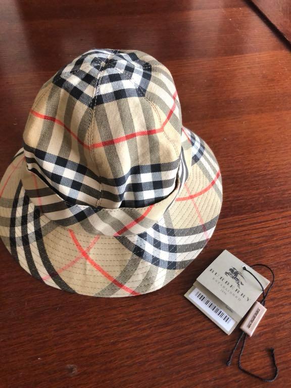 Burrbery Burrberys kapelusz dziecięcy 54 oryginł