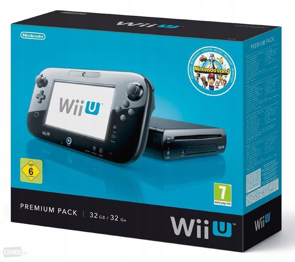 Konsola Wii U 32 Gb Kolor Czarny 7445038682 Oficjalne Archiwum Allegro