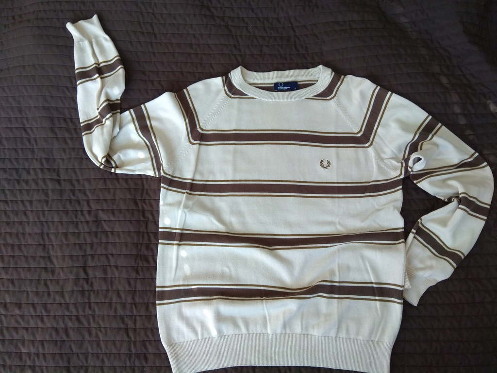 FRED PERRY sweter okazja, rarytas ! casual UK oi