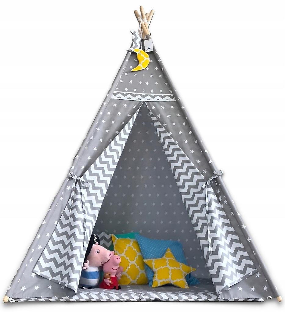 Tipi Namiot wigwam dla dzieci rożne warianty