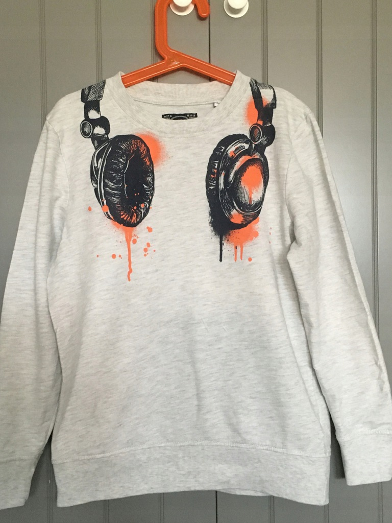 C&A bluza ze słuchawkami 134/140