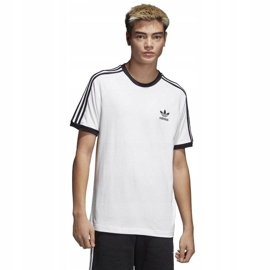 Koszulka adidas Originals 3 Stripes CW1203 S biały