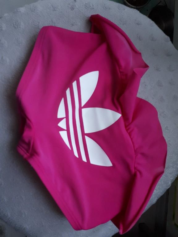 adidas 92 majtki kąpielowe strój dziewczęcy