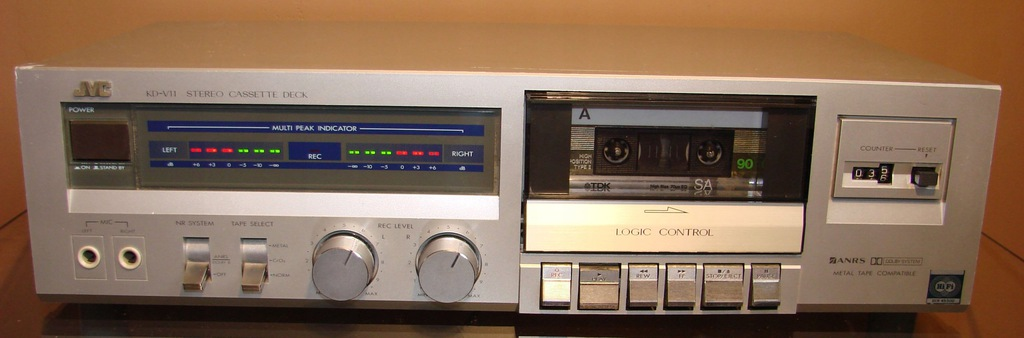 JVC KD-V11 - DECK - VINTAGE - 1983 - GWAR.