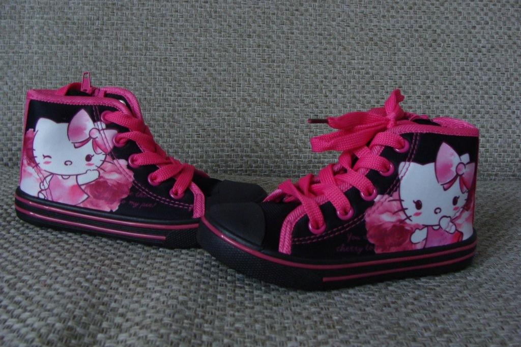 Hello Kitty Trampki dziewczęce rozm.25 7686960514