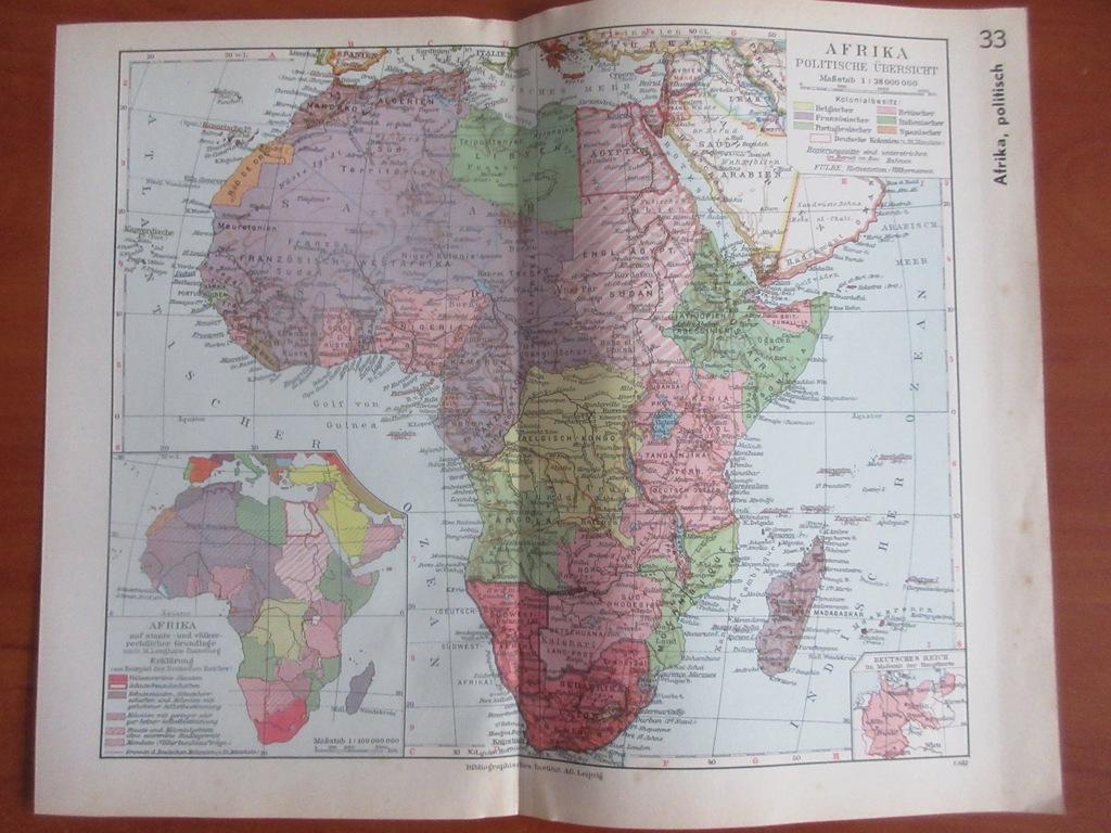 AFRYKA  MADAGASKAR ROK 1936