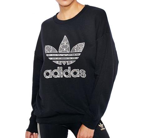 adidas originals bluza damska czarna