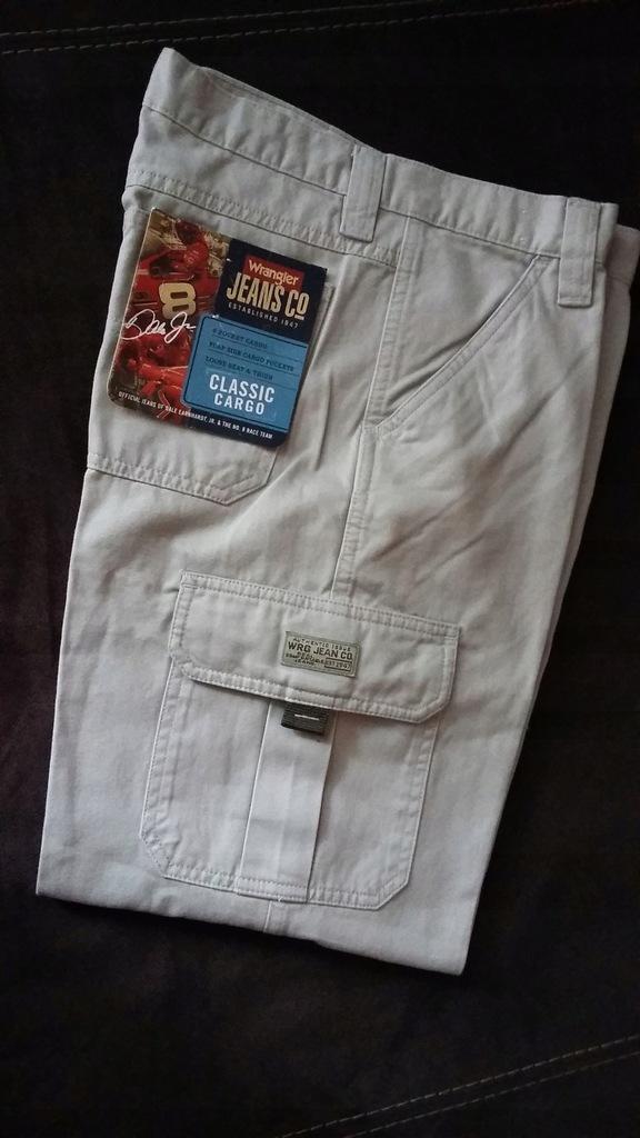 Spodnie WRANGLER jeans dżinsy nowe z USA