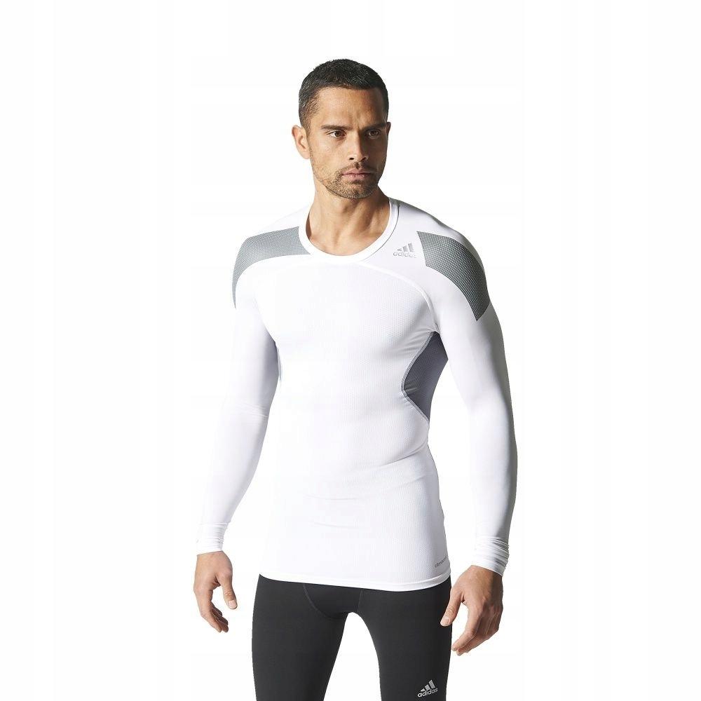Koszulka adidas Techfit Cool LS Tee S19451 L biały