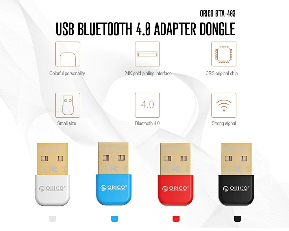 ORICO BTA - 403 Mini USB Bluetooth Adapter Dongle