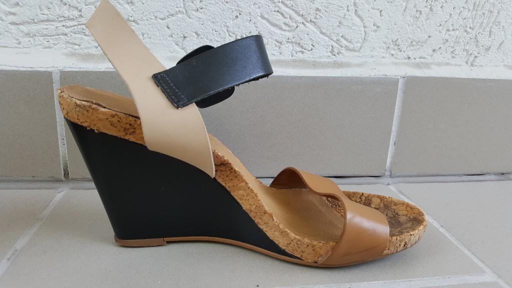 buty sandały na koturnie na obcasie BATA 41 7073313076