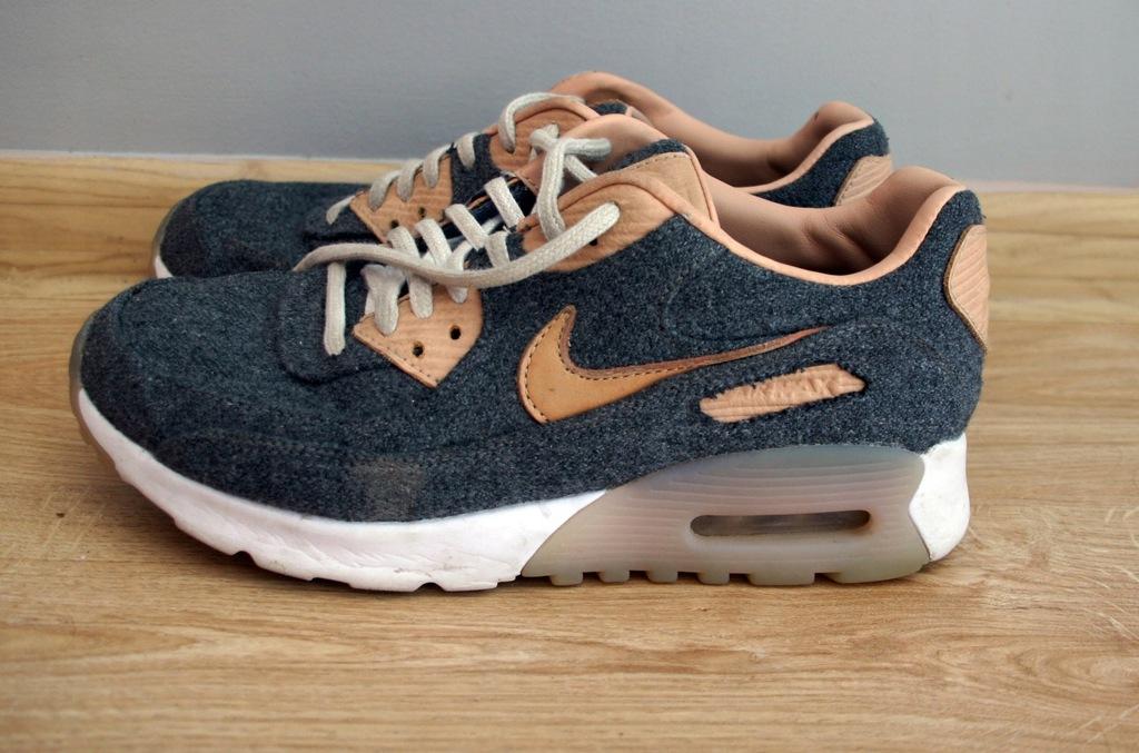 Buty Damskie Nike Air Max 90 Premium •cena 604,00 zł•Białe