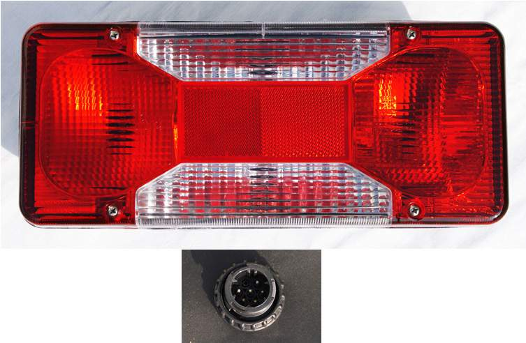 LAMPA TYLNA IVECO DAILY NOWY TYP DUCATO BOXER