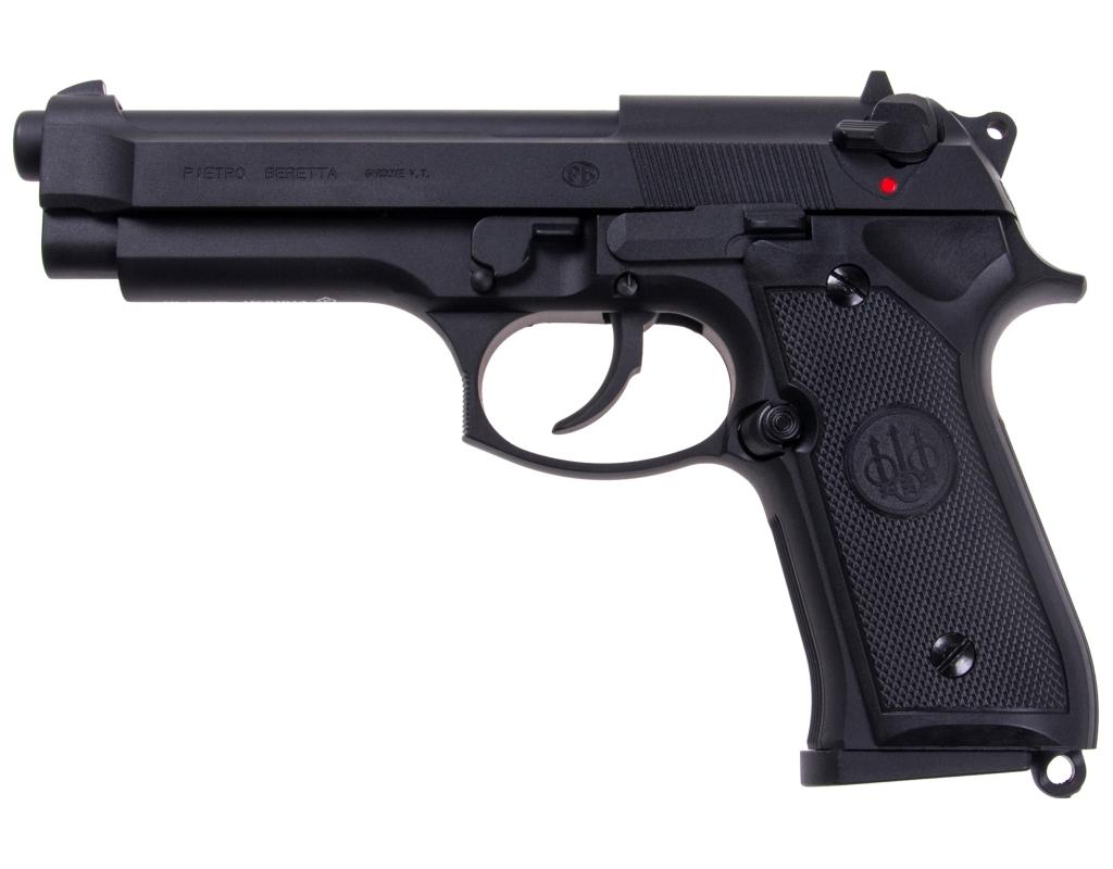 PISTOLET GBB BERETTA M92FS GREEN GAS 330 FPS