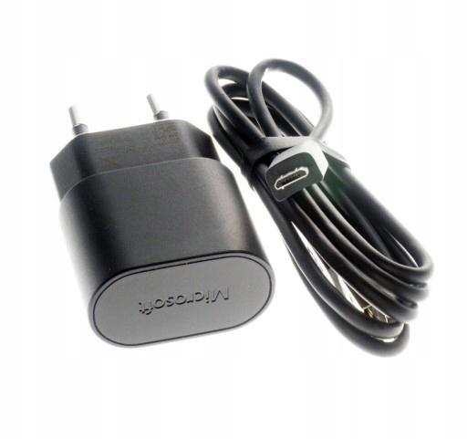 AA802 Microsoft Szybka ładowarka AC-60E Nokia 1,5A
