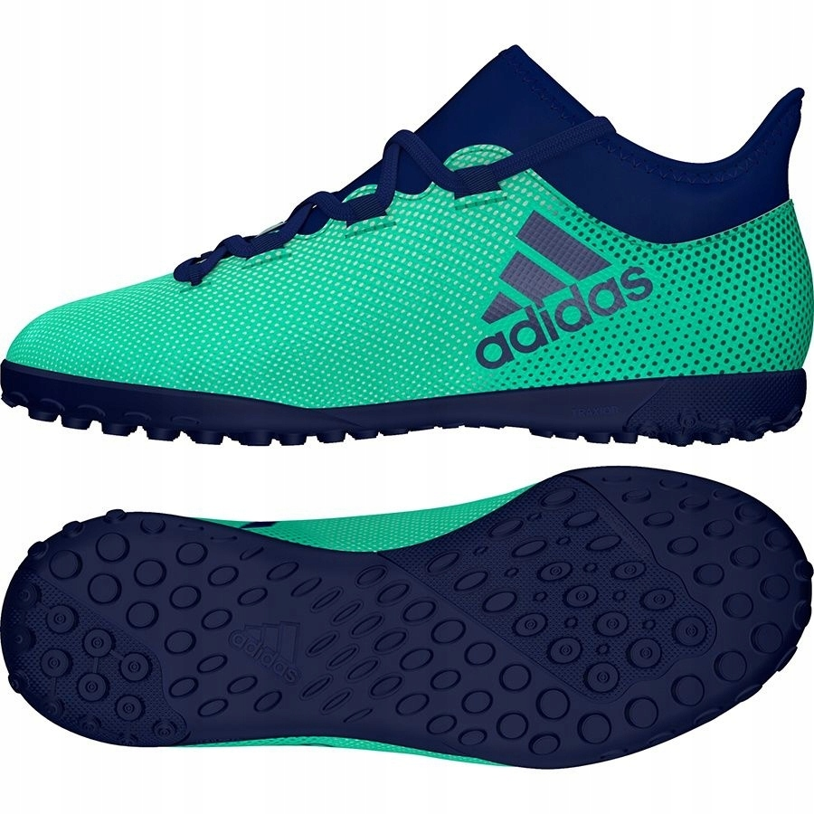 Buty adidas X Tango 17.3 TF J CP9027 34 zielony