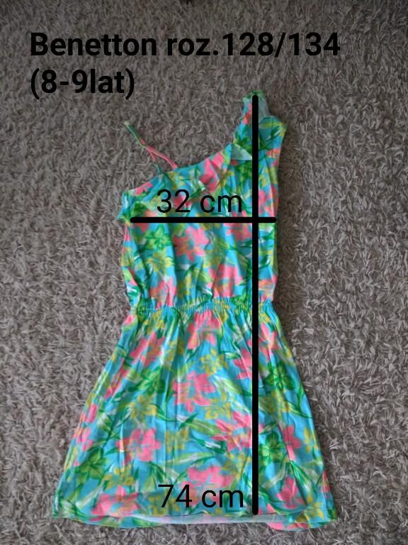 sukienka Benetton 128/134