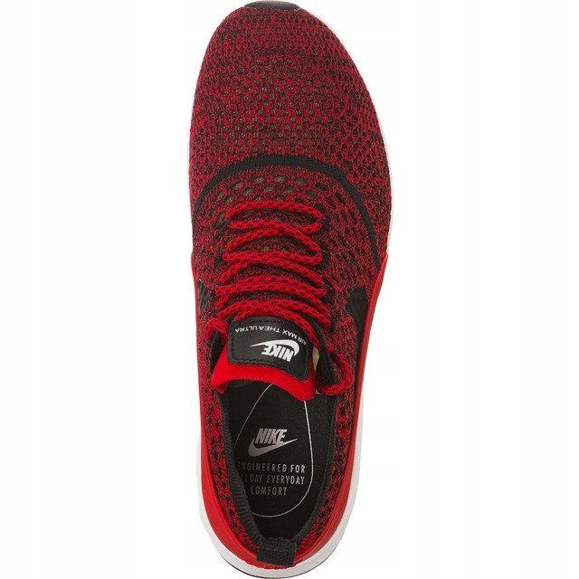 Czarne Czerwone Tekstylne Buty Damskie Nike rozmiar 36