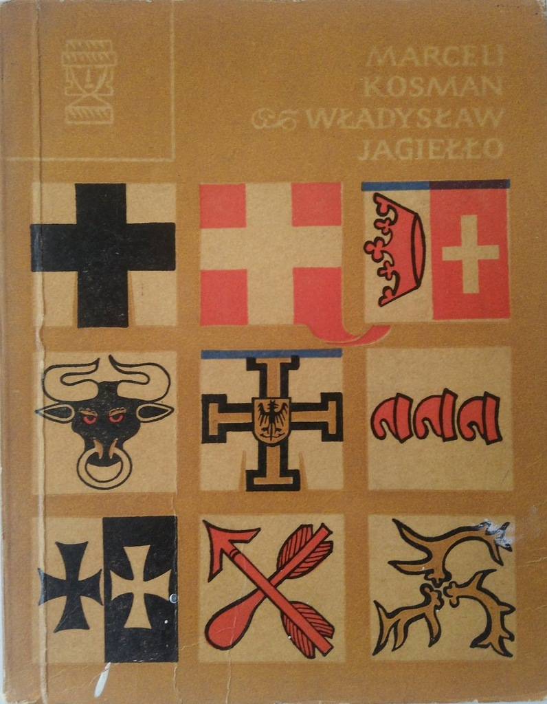 WŁADYSŁAW JAGIEŁŁO MARCELI KOSMAN 1968 - 7125209801 - oficjalne archiwum  Allegro
