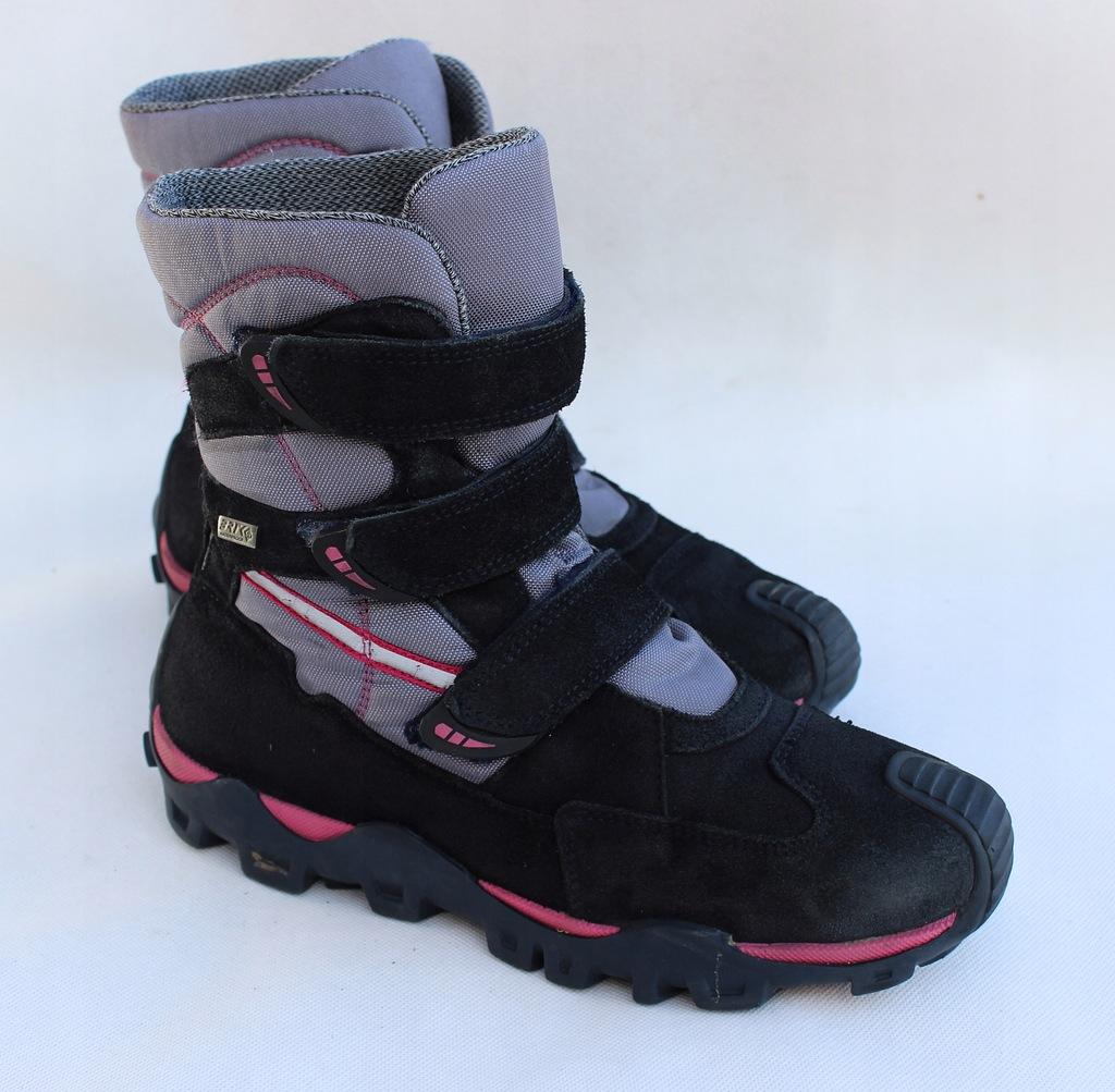 Kozaki buty zimowe dla dziewczynki 4 kolory kożuch Zdjęcie