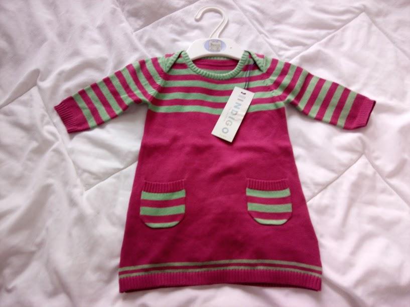 M&S sukienka tunika 0-3mce, NOWA, TANIO!