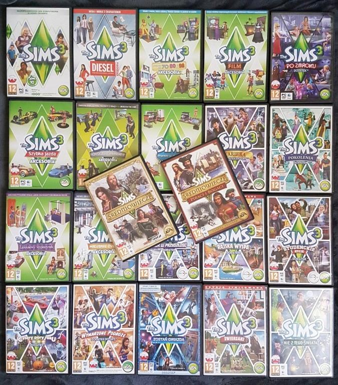 The Sims 3 Kolekcja The Sims Sredniowiecze 7293122209 Oficjalne Archiwum Allegro