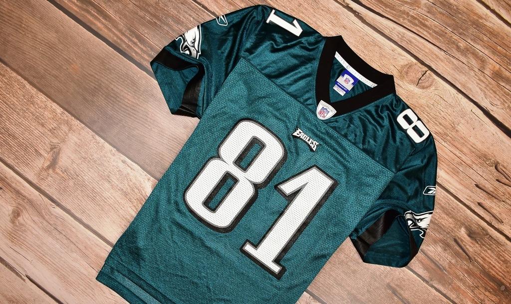 REEBOK _ EAGLES _ OWENS '81_ NFL FOOTBALL SHIRT_ M