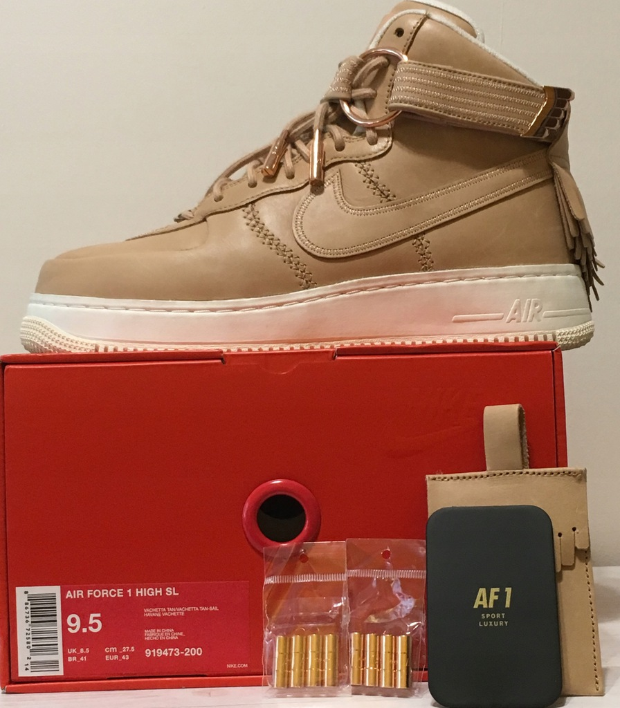 Nike Air Force 1 High Sport Luxury rozm. 43, us9.5