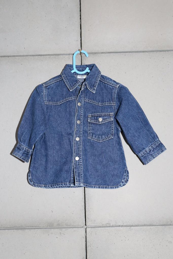 Koszula dżinsowa rozmiar 86