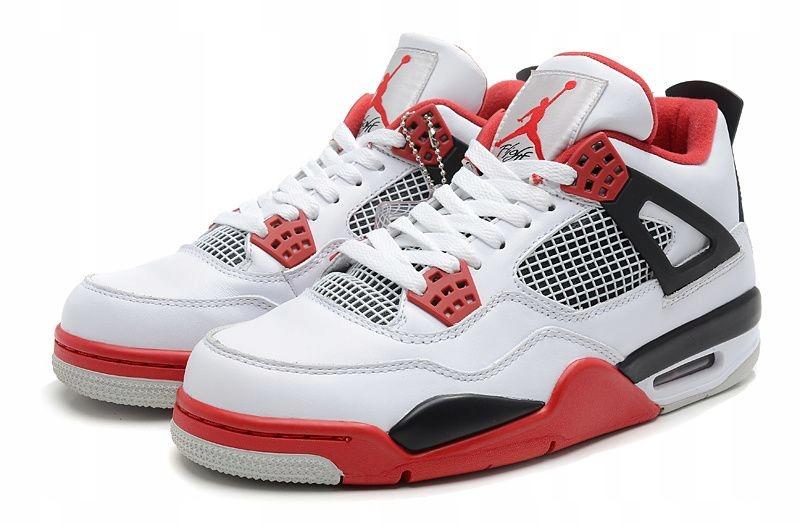 Buty męskie Air Jordan 4 Retro Fire Red r41 wys PL