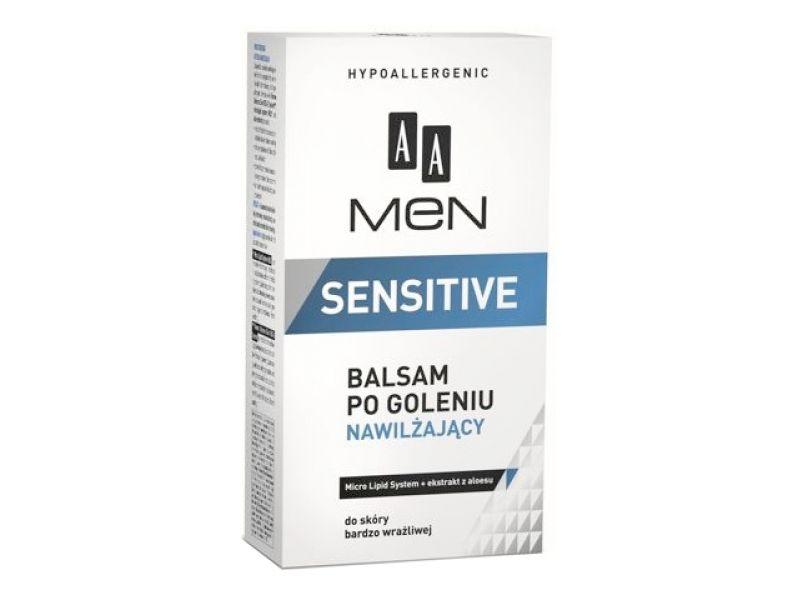 AA Men Sensitive balsam po goleniu nawilż. 100ml