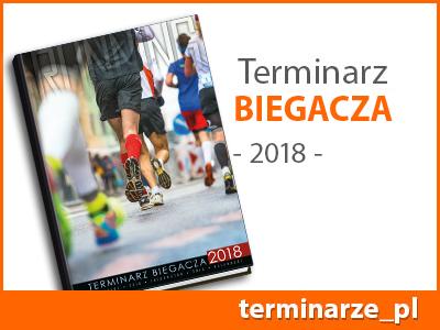Terminarz Biegacza - kalendarz książkowy 2018