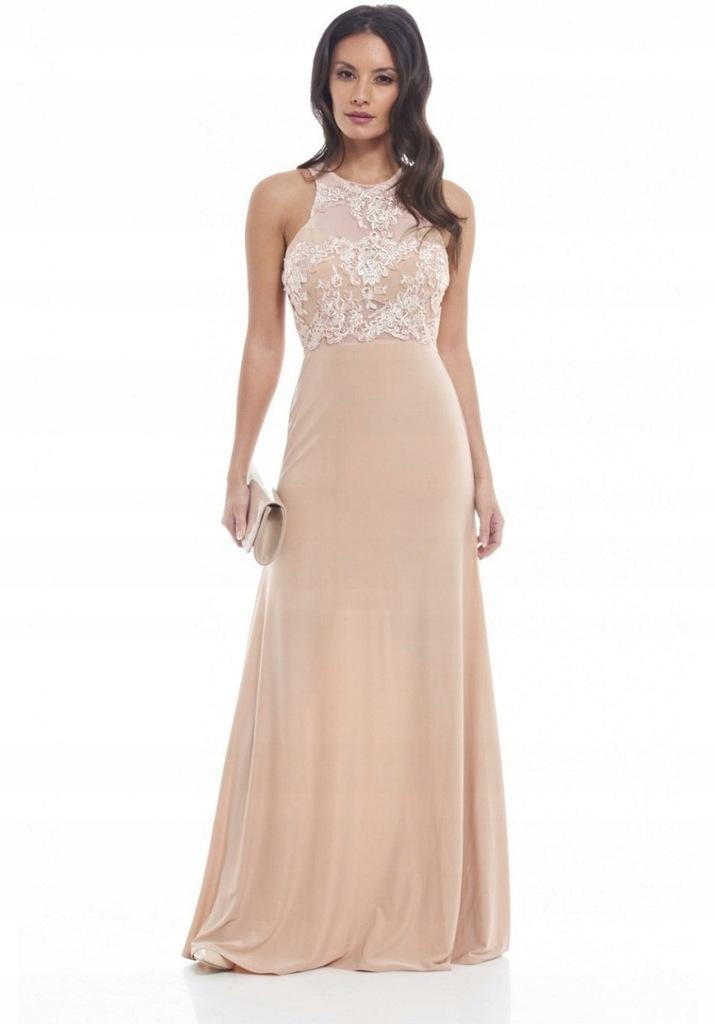 Alyce Paris 1397 - sukienka wieczorowa na cienkich