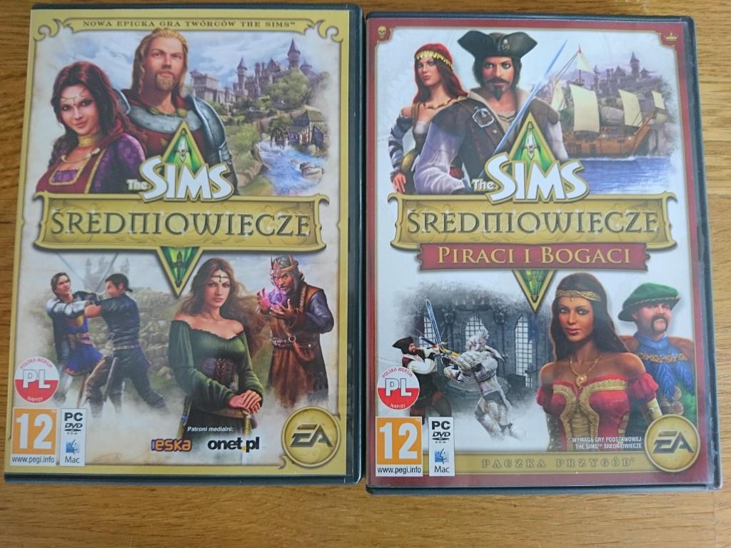 The Sims Sredniowiecze Komplet 2 Czesci 7370136760 Oficjalne Archiwum Allegro