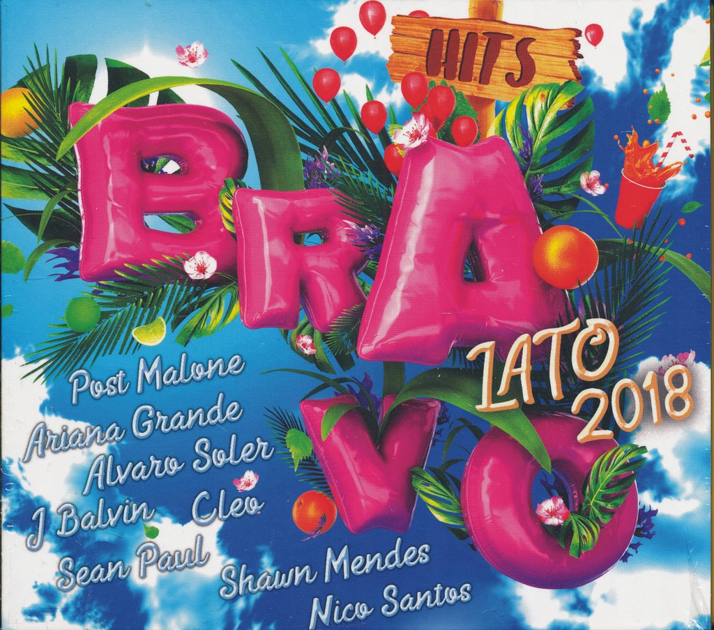 Bravo Hits Lato 2018 2cd C Bool Wonderland Cleo 7401785642 Oficjalne Archiwum Allegro
