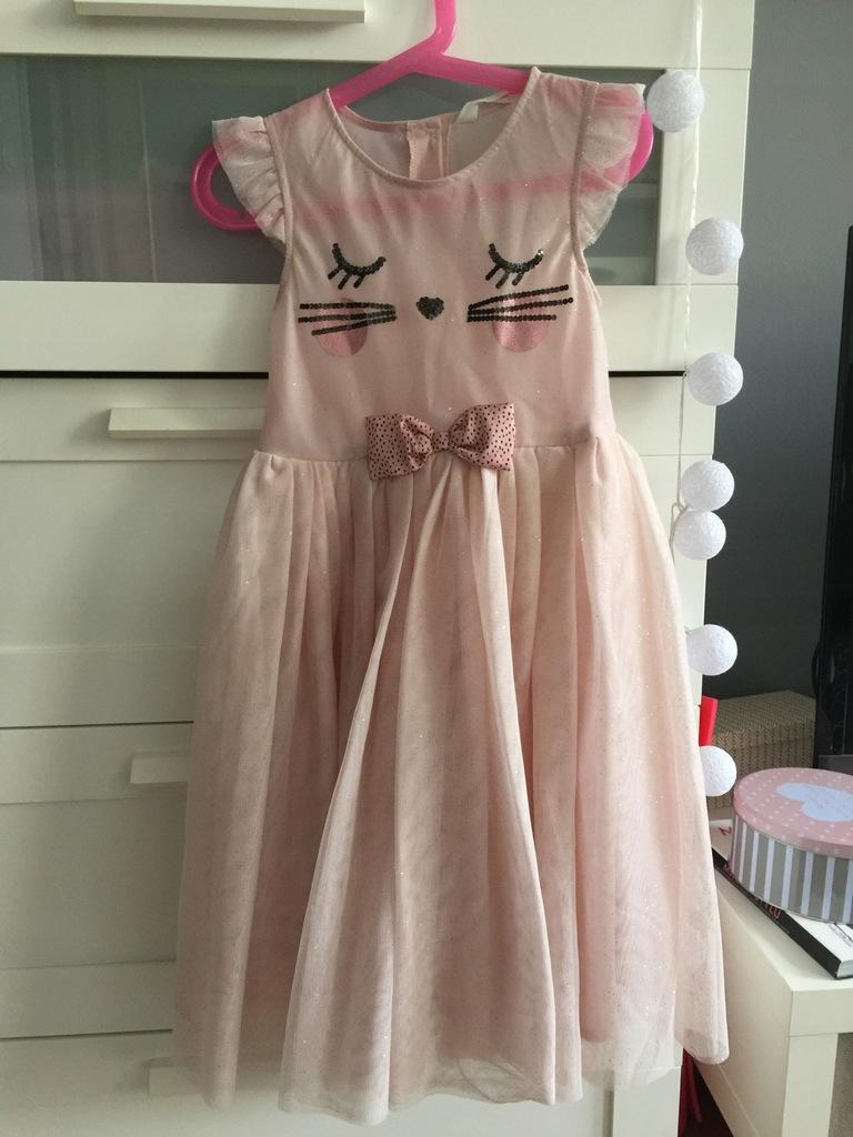 sukienka dla małej księżniczki, święta 116 cm HM