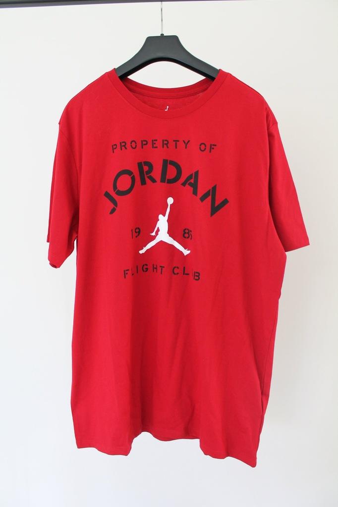 Jordan Latające Sny Tee Nowy mężczyzna T-Shirt Xl