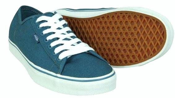 VANS FERRIS trampki męskie blue 24,5 cm 38,5