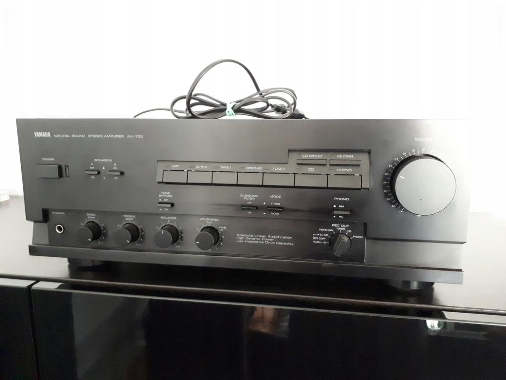 Yamaha Ax 700 Wzmacniacz Stereo Stereo Amplifier 7682859536 Oficjalne Archiwum Allegro