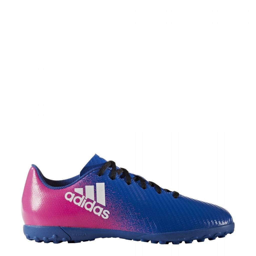 Buty piłkarskie turfy Adidas X 16.4 TF Jr BB5725