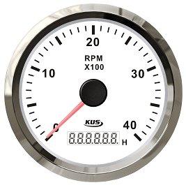 Obrotomierz z licznikiem motogodzin KUS 8000 RPM