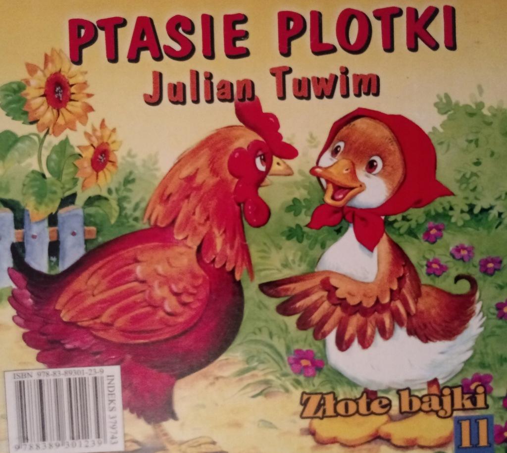Ptasie Plotki Julian Tuwim 7632983011 Oficjalne